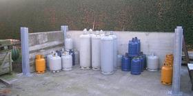 Vandersteene Kurt - Alveringem - Depot gasflessen